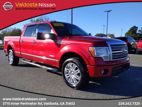 Pre-Owned 2012 Ford F-150 Platinum 4WD Crew Cab Pickup