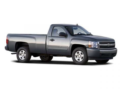 Pre-Owned 2008 Chevrolet Silverado 1500 Work Truck RWD Regular Cab Pickup